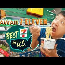 Trying HAWAII 7-ELEVEN | Hawaiian Food Review! BEST 7-ELEVEN in U.S.