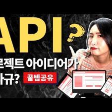 API란? 개념 정리와 포트폴리오에 유용한 대박 사이트 공유 🙌
