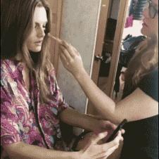 Makeup-cellphone-throw