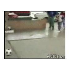 Kid-kicks-soccer-ball