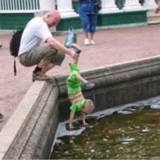 연못 속의 동전을 건져라