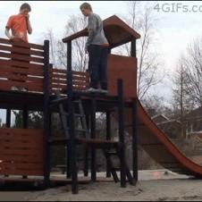 Playground-backflip-fail