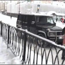 Batman-Spiderman-Santa-snow-fight