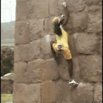 Wall climbing hax
