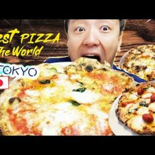 BEST PIZZA in THE WORLD in Tokyo Japan?!