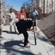 Spinning-bat-dizzy-rooftop