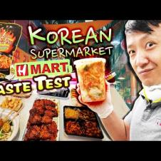 H-MART KOREAN SUPERMARKET Taste Test! BEST & WORST Korean Grocery Market Foods