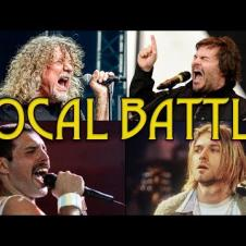 "Who sang ""Immigrant Song"" (Led Zeppelin) the best? (feat. 커트 코베인, 프레디 머큐리, 잭 블랙, 크리스 코넬)"