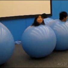Ball-suits-bouncing