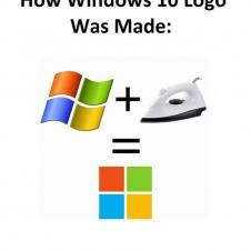 윈도우 10 로고가 만들어진 과정