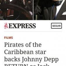 """조니 뎁 """"캐리비안의 해적, 잭 스페로우""""로 돌아온다"""