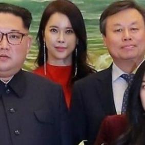김정은과 아이린..