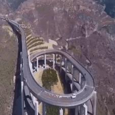 흔한 대륙의 도로