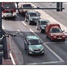 염치없는 운전자