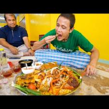 Arabian Food!! GIANT BIRYANI MOUNTAIN in Pattani! | ข้าวหมกปัตตานี