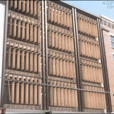 Mechanical blinds