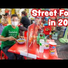 Street Food in 2020 😷 Thai Food SOCIAL DISTANCING in Bangkok, Thailand! 🇹🇭